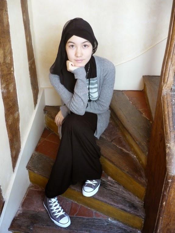 Hijab Style Hijab Fashion Modest Style Maxi Dress Jpg