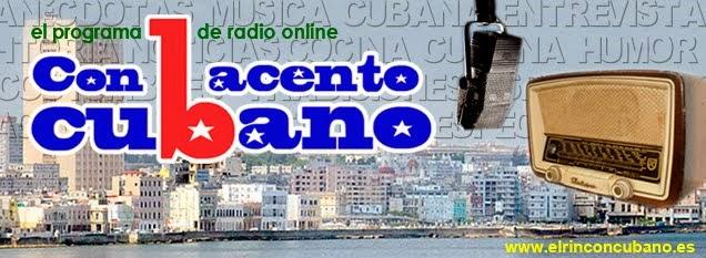 Radio Con acento cubano.