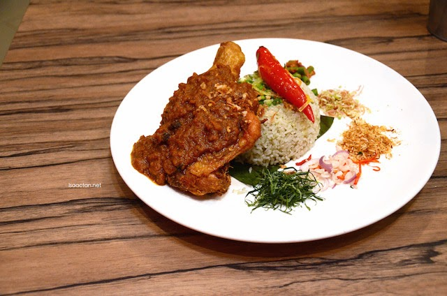 Herbal Nasi Cina Kampong (Ulam Rice) - RM16.80