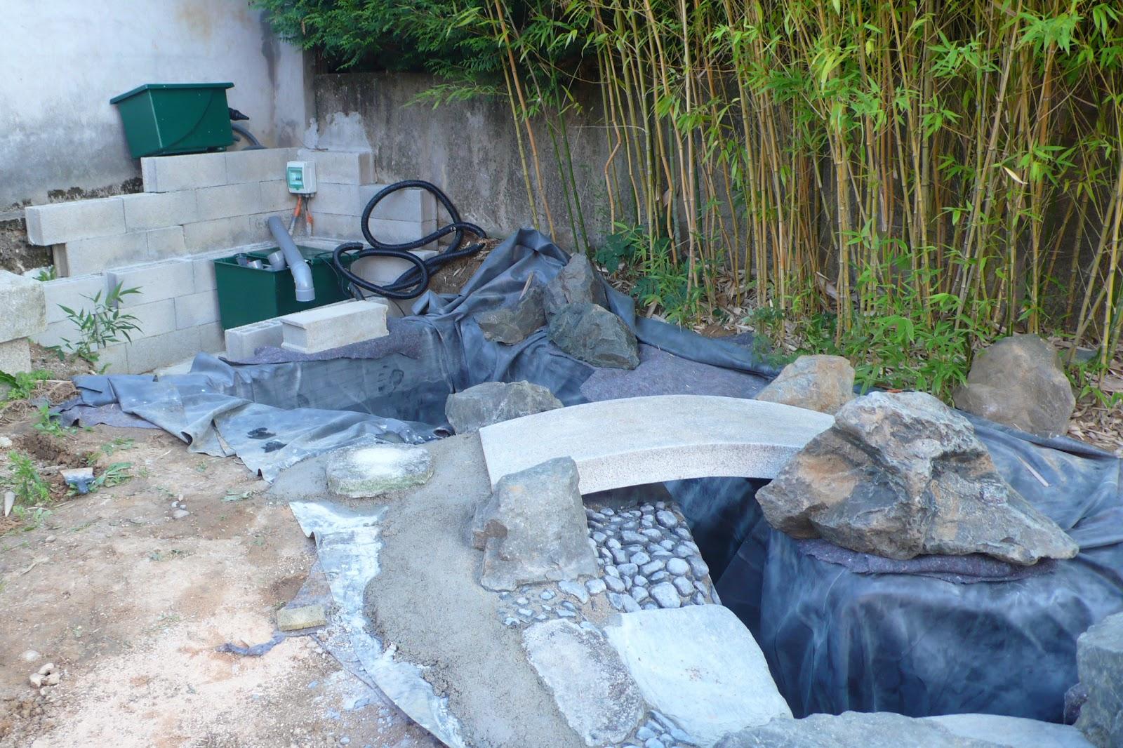 Urban nature par bruno heller avant apr s - Foto de bassin de jardin avec cascade ...