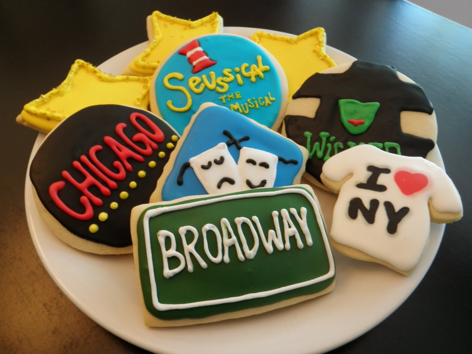 how to make broadway cookies