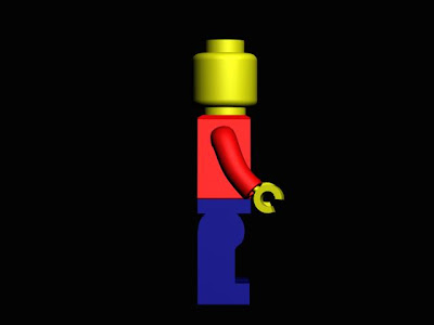DES124 3D Work: Lego Man