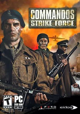Commandos: Strike Force PC Cover