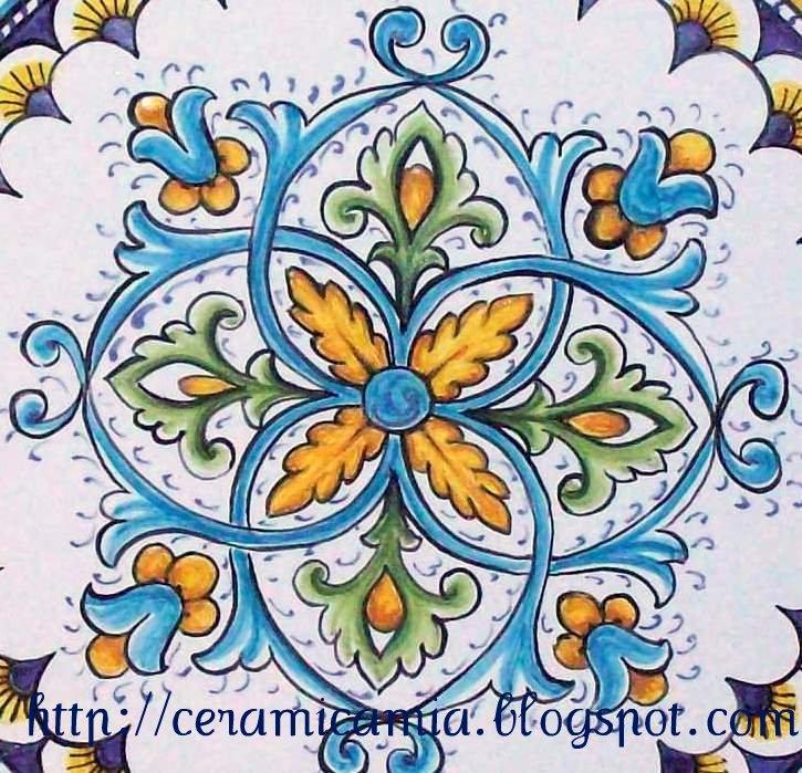 Ceramica che passione la differenza tra ceramica e maiolica for Mattonelle maioliche