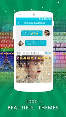 Emoji Keyboard - Emoticons(KK) 3.8.0 Game For Android Terbaru 2016