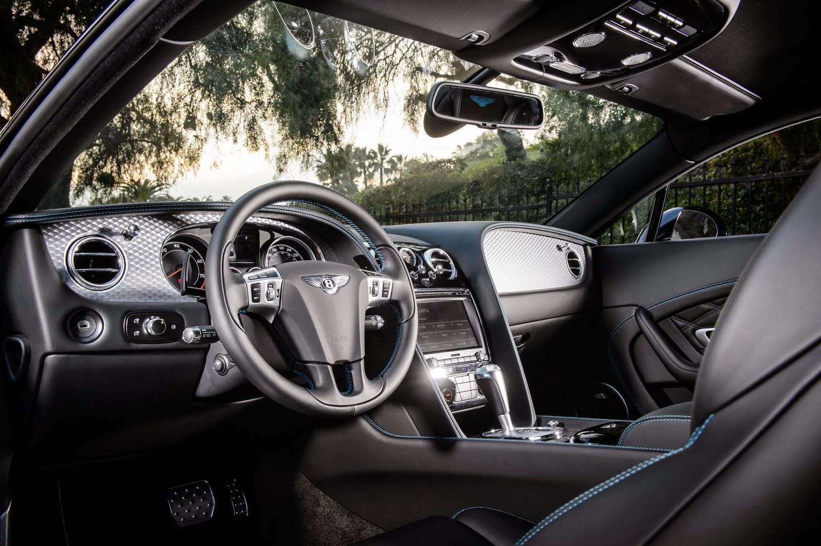 Bentley Continental GT V8 S Interior Image