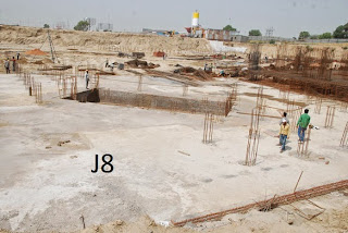 Amrapali Kings Wood :: Construction Update J8