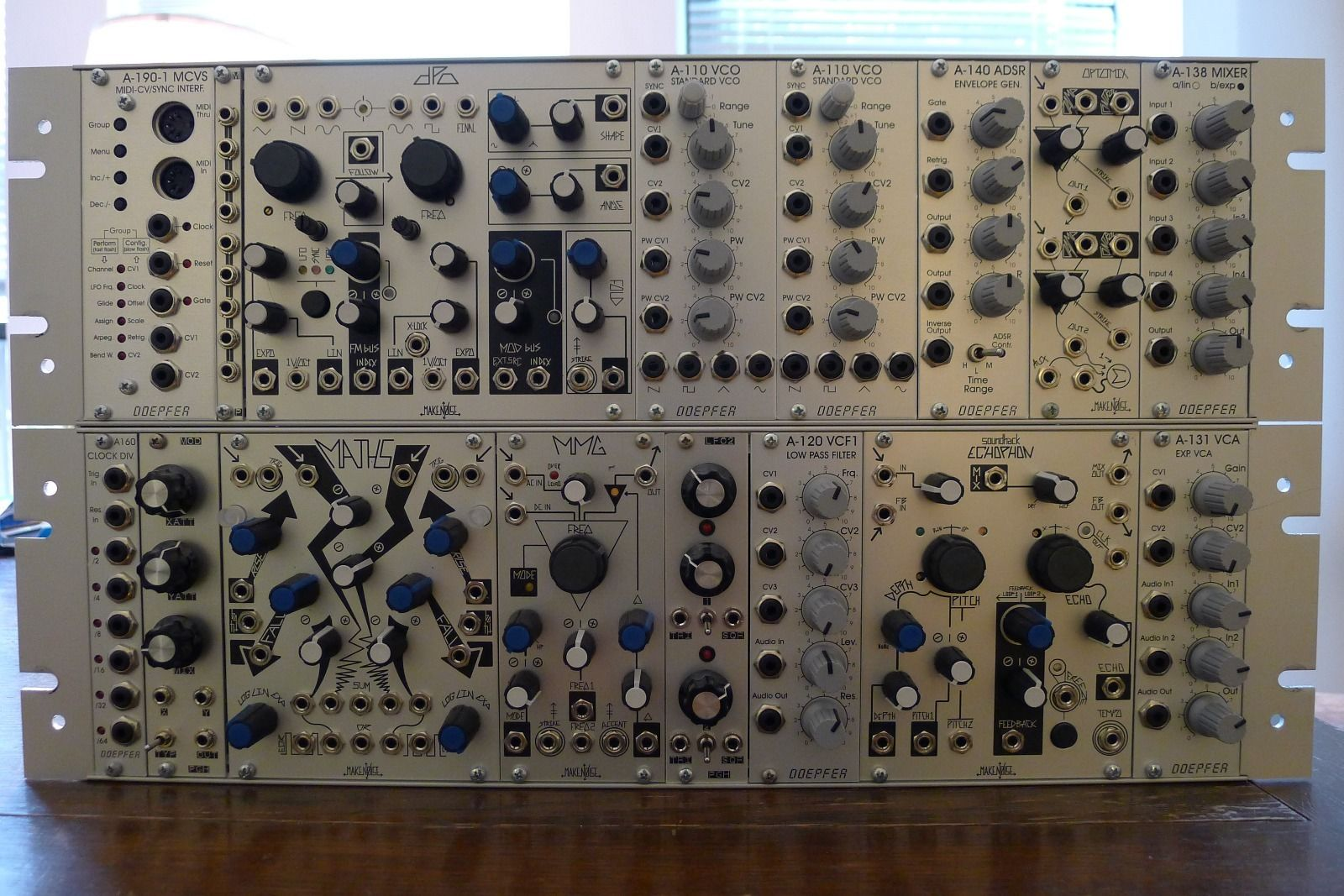 matrixsynth  doepfer make noise eurorack modular synthesizer