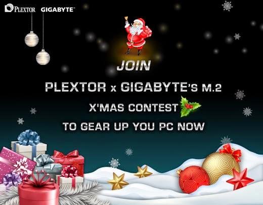 PLEXTOR M.2 Christmas Contest