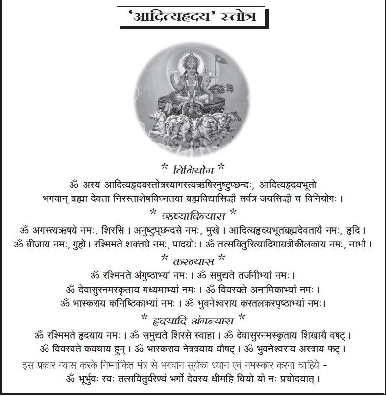 Aditya hridaya stotra hindi mp3 free download