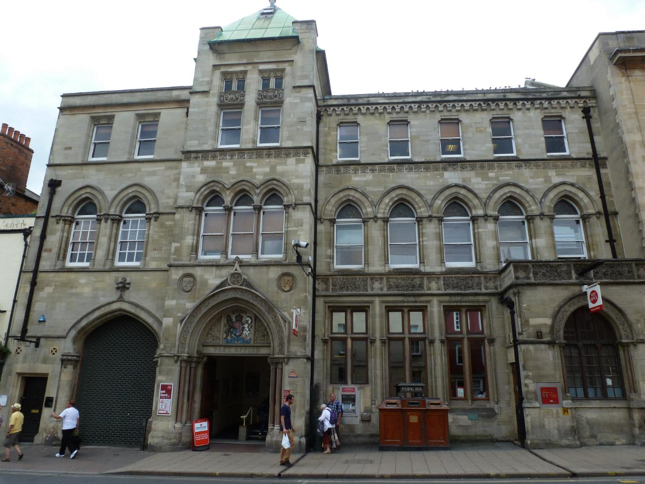 Gulfmann stamps collection great britain oxford post office - Great britain post office ...