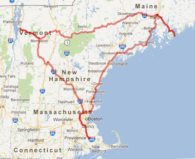 Our 1000 mile journey through New England during fall colors peak season
