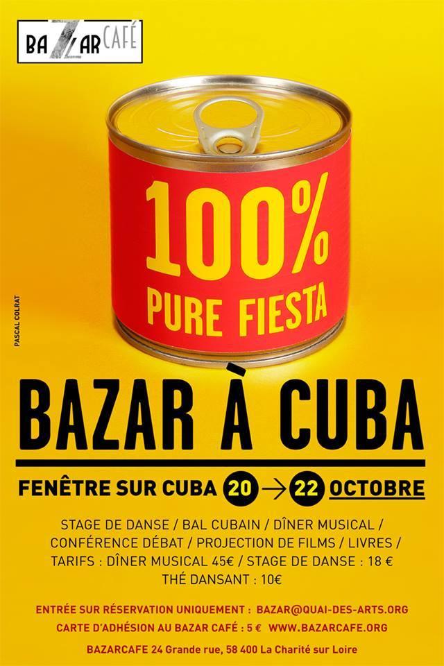 [Bazar à Cuba !] Au Bazar Café du 20 au 22 octobre,