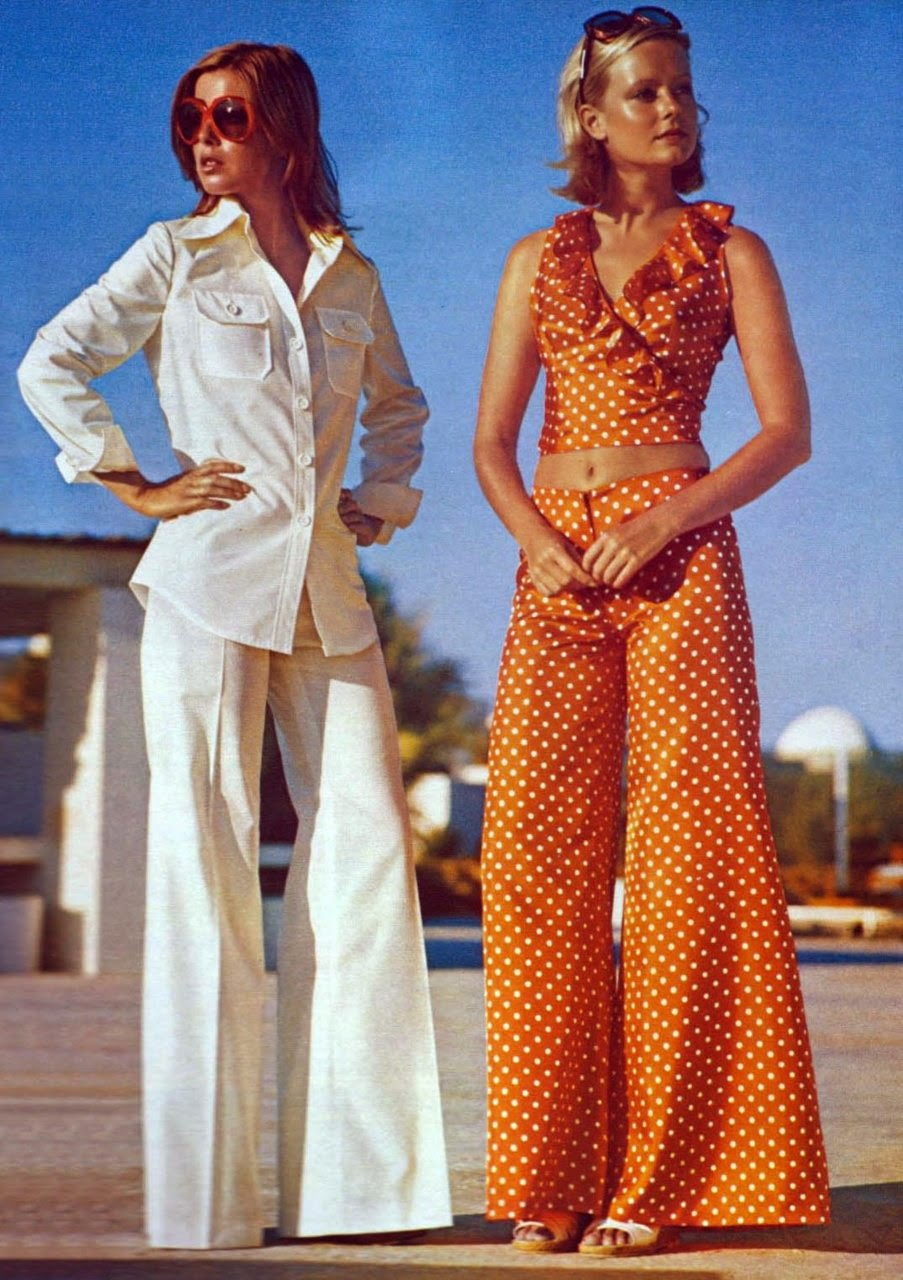 Original  Awesome And Colorful Photoshoots Of The 1970s Fashion And Style Trends