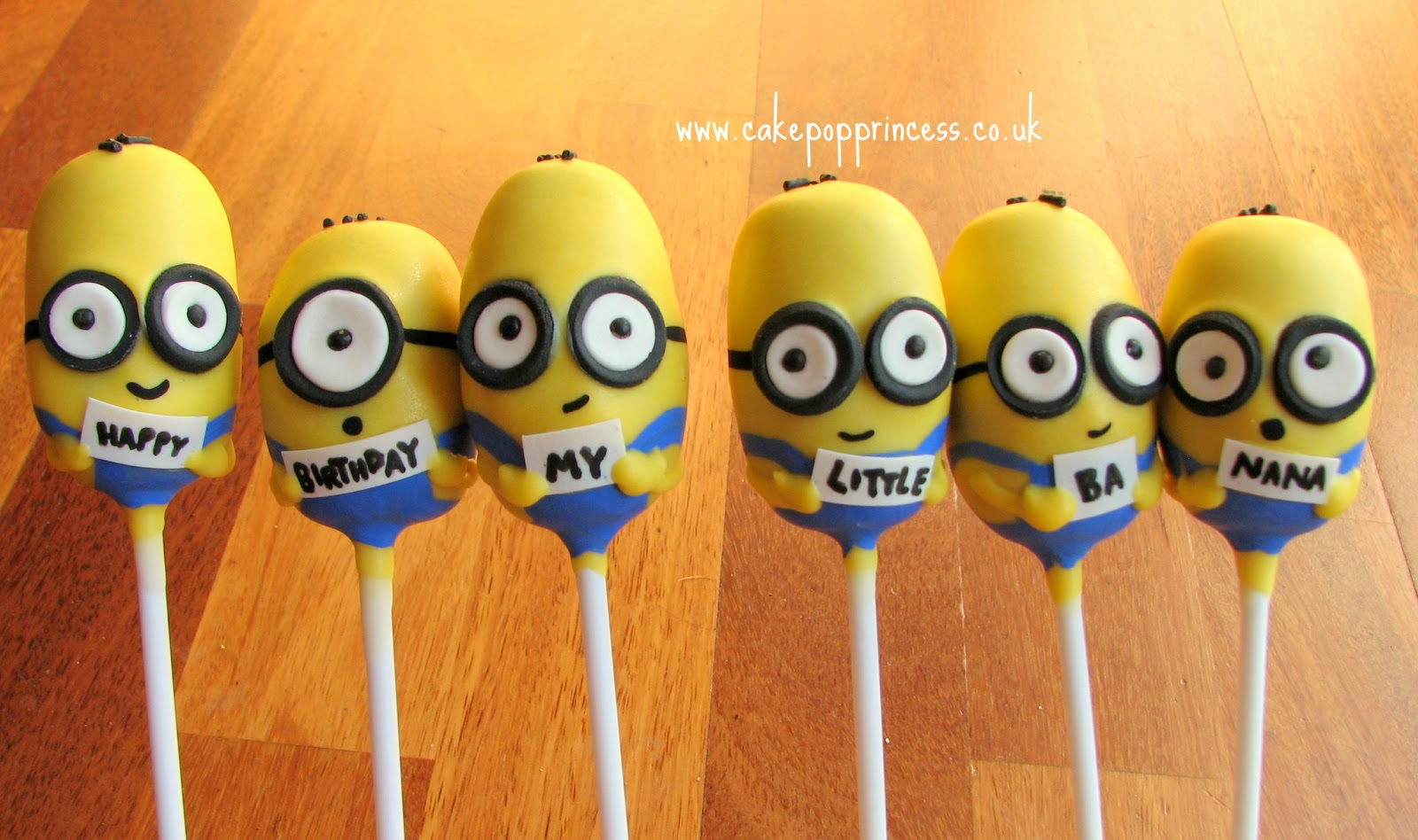 Images Of Minion Cake Pops : Cake Pop Princess: Very late makes to share - post 1!