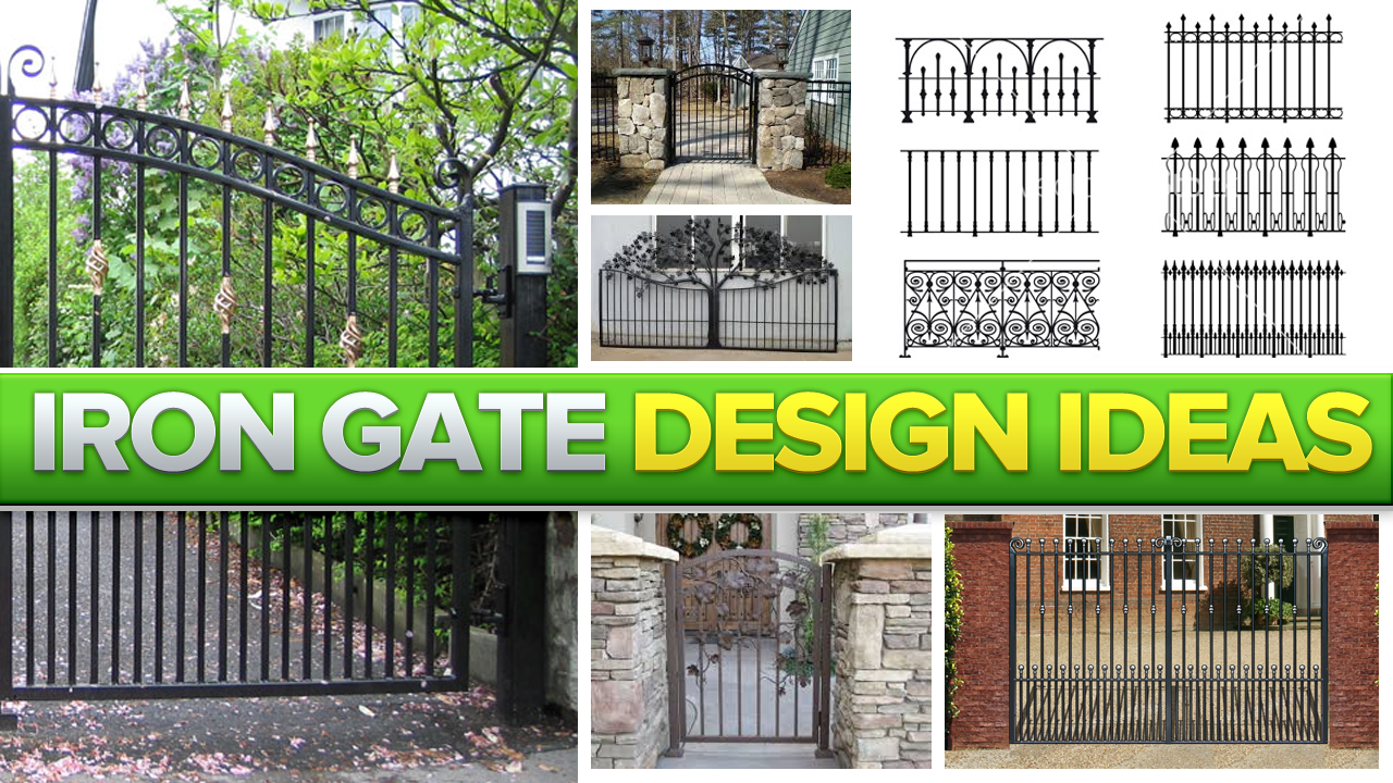 Wrought iron fences - Iron Gate Design Ideas