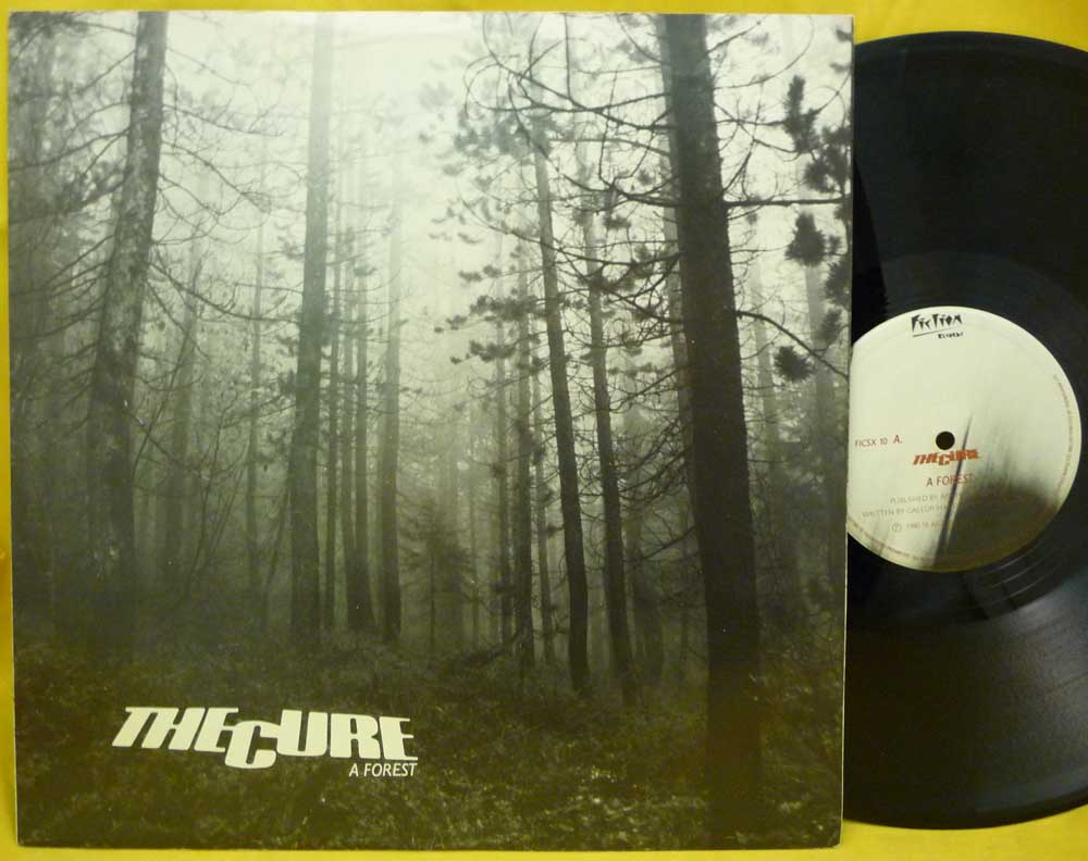 "dreams never end: THE CURE - A Forest 12"" - 1980"