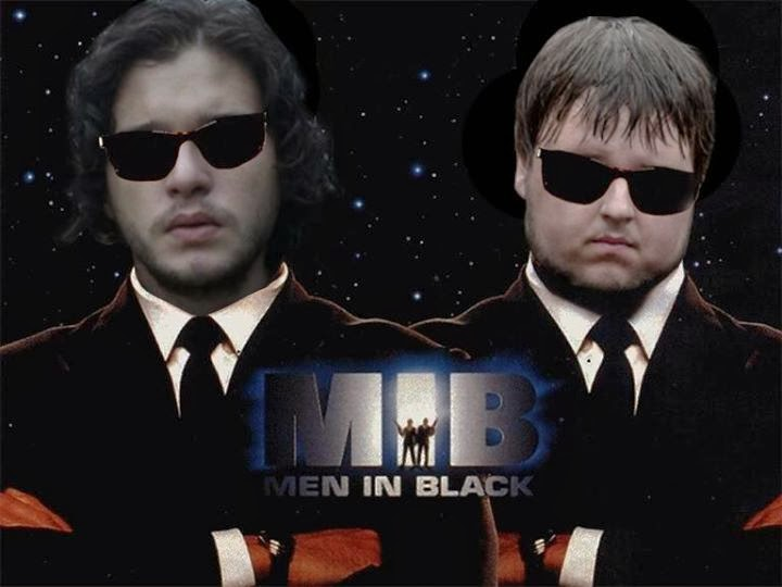 men in black game of thrones memes
