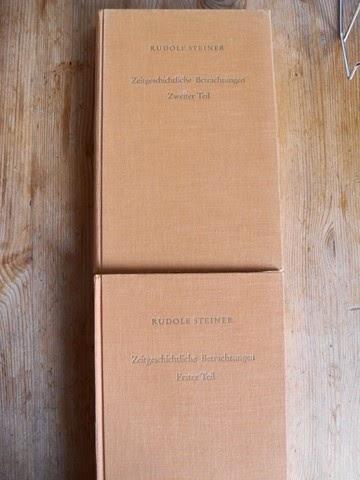 Steiner, Rudolf: Zeitgeschichtliche Betrachtungen. Erster und Zweiter Teil. Das Karma der Unwahrhaftigkeit. GA 173, GA 174