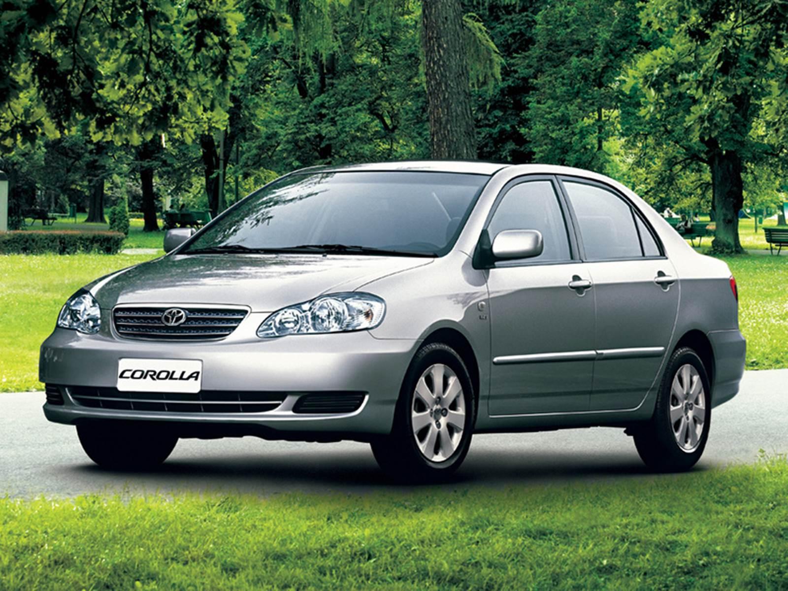 Toyota Corolla 2003 a 2007 - recall