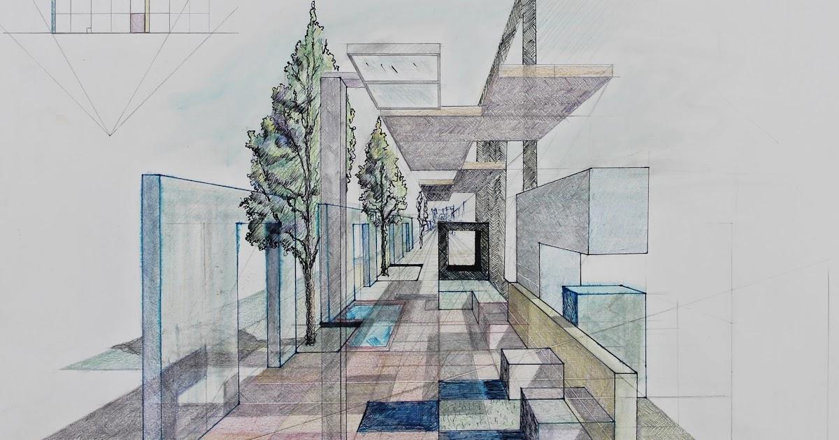 Arquitectura y dise o perspectiva c nica en color for Blog arquitectura y diseno