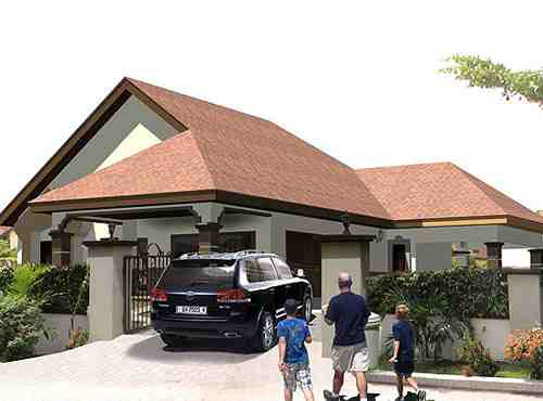Ghana Rising Buena Vistas Beach Drive Development The Hottest - Ghana luxury homes