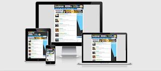 Templete Premium BroSense Responsive Dan Seo Friendly
