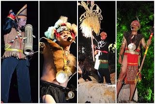 Sarawak Malaysia Borneo Rainforest World Music Festvial NATIVE CHANTING (Sarawak)