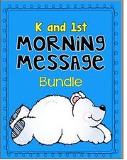 Morning Messages: Kindergarten & 1st