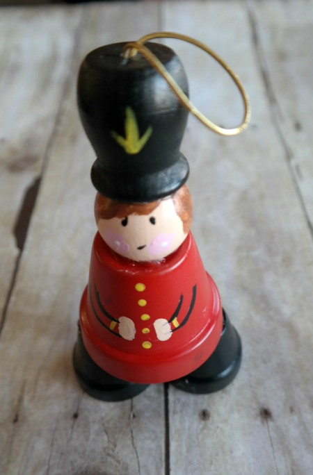 Passionate About Crafting Clay Pot Toy Soldier Holiday