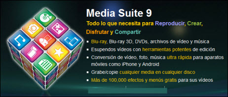 CyberLink Media Suite 9.0.0.3706 Ultra (Multi/Español - Full)