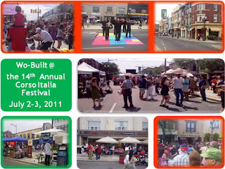 Corso Italia Festival, July 2-3, 2011, photo-collage by wobuilt.com