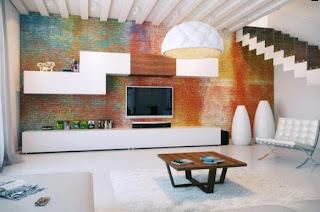 Desain Interior Apartemen Minimalis Full Color