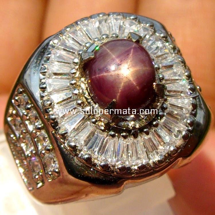 Batu Permata Ruby Star - sp036
