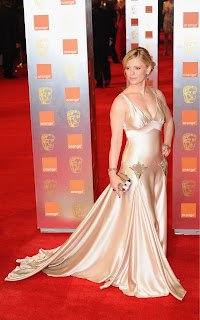 Emilia Fox at the Baftas