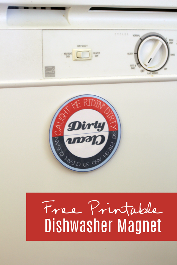 Free Dishwasher Magnet Printable #SparklySavings #CollectiveBias #shop