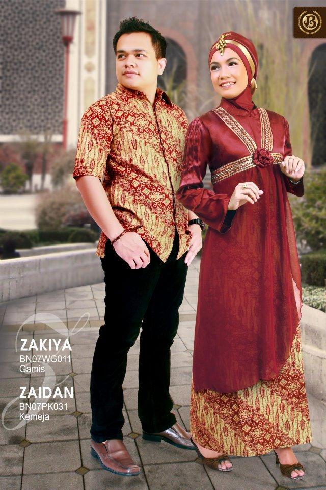 Baju Muslim Murah Dan Modern Batik Burhani
