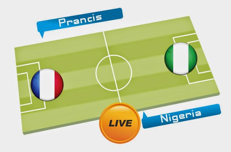 Prediksi Skor Prancis vs Nigeria 30 Juni 2014 Piala Dunia