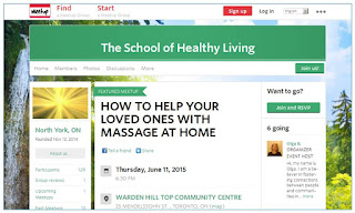 School of Healthy Living at the Art of Life Community Health Centre, Toronto, meetup