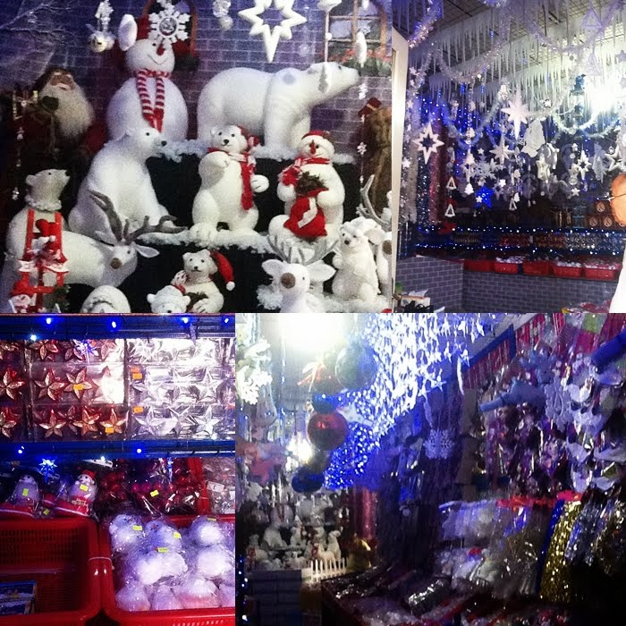 4 christmas store across henrys