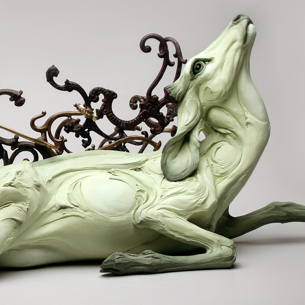 ceramic animal sculptures beth cavener stichter-1