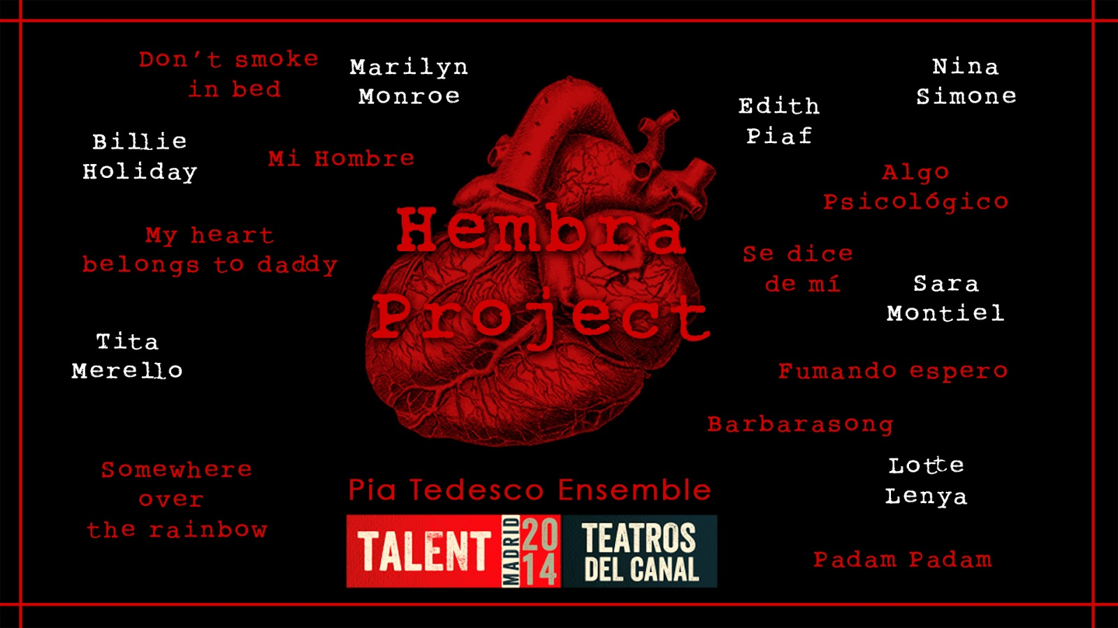 HEMBRA PROJECT Pia Tedesco Ensemble