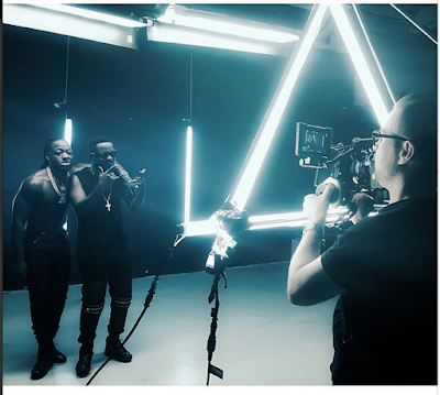 Photos From Sarkodie And Ace Hood's Video Shoot In Miami