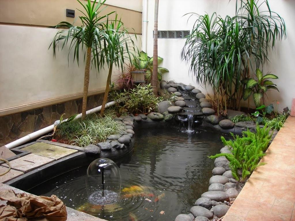 Beriikut beberapa Model dan gambar desain taman dan kolam ikan didalam ...