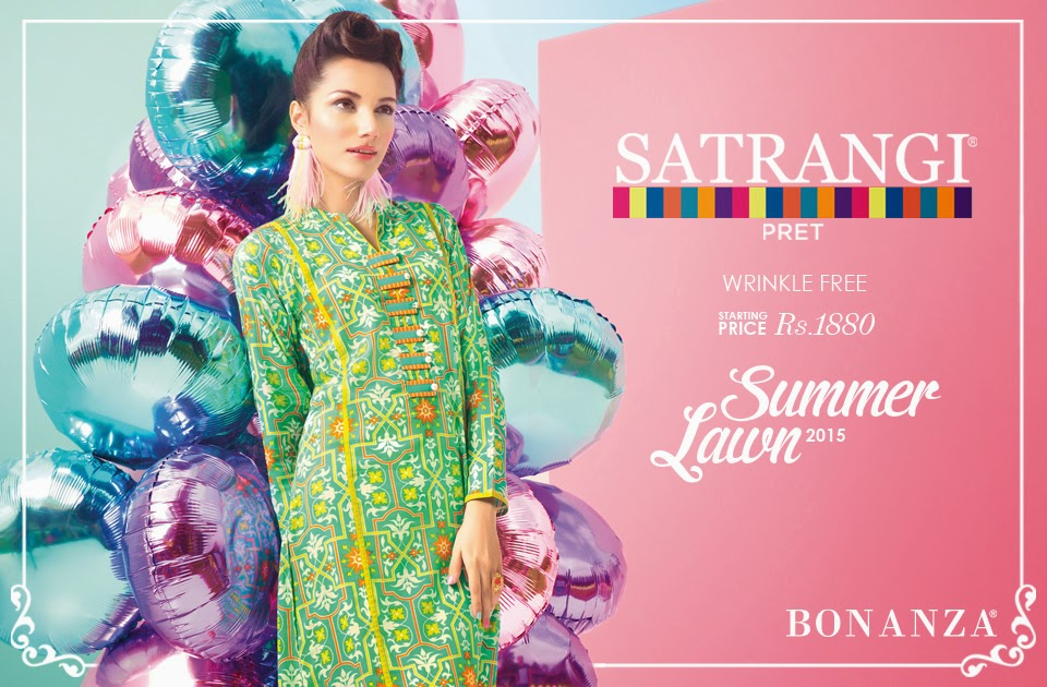 Satrangi summer collection fashion