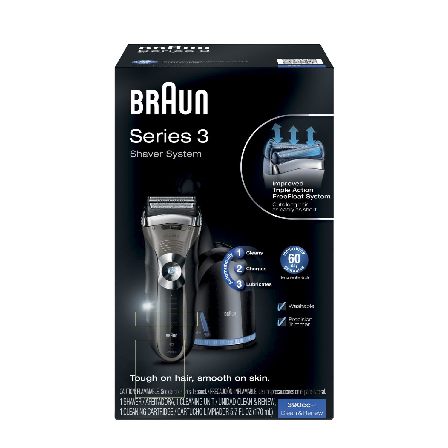 how to change cutting head on braum electric shaver