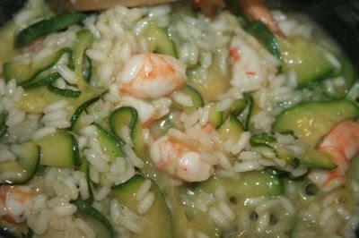 Cucinare risotto gamberetti e zucchine for Cucinare risotto