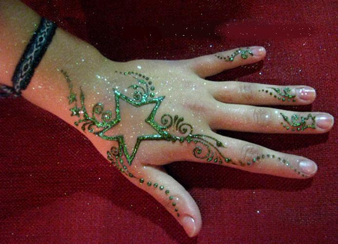 Mehndi Bracelet Design For Kids : Mehndi simple designs for kids