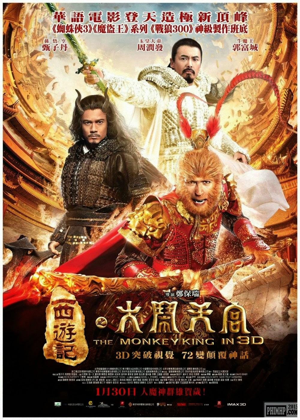 poster Đại Náo Thiên Cung 3D