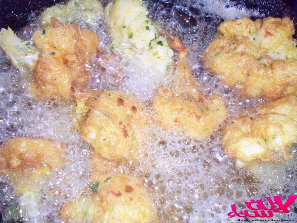 شفلور مقلي غزال ولذيذ
